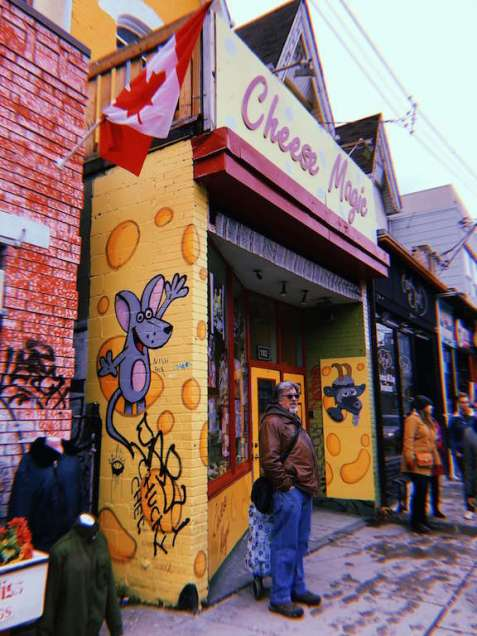 Things to do in Kensington Market Toronto - cheese shops