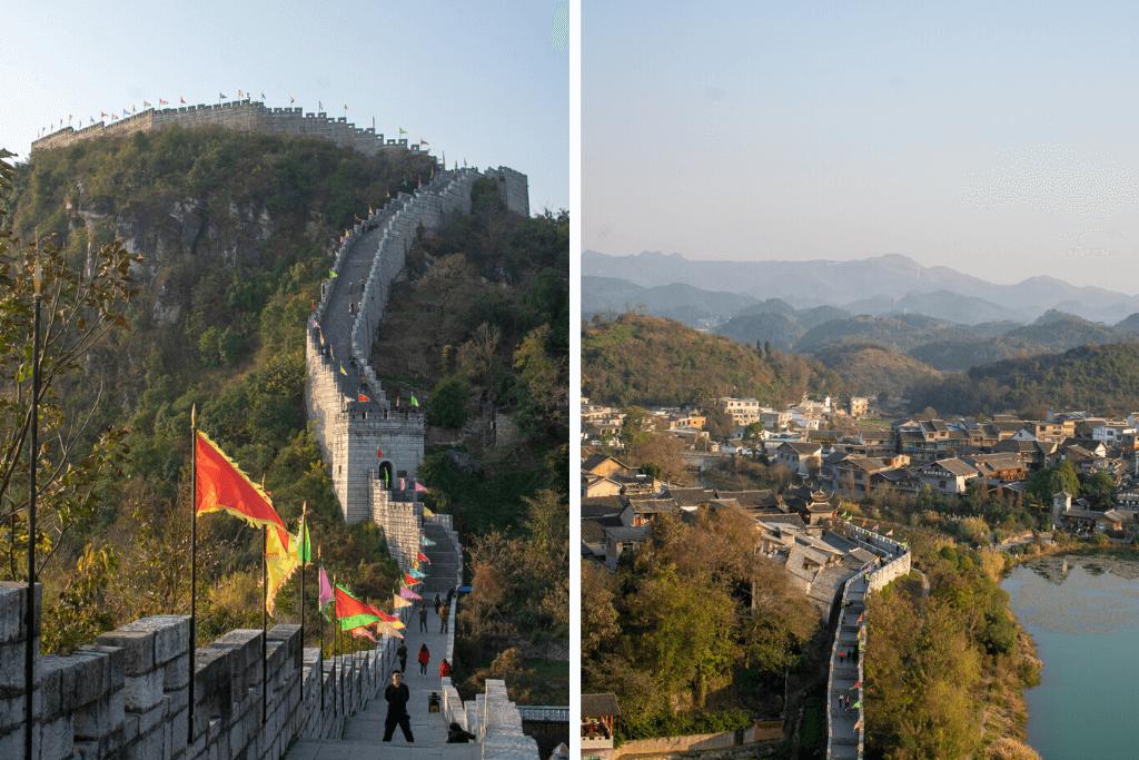 Guiyang Great Wall in Qingyan Ancient Town