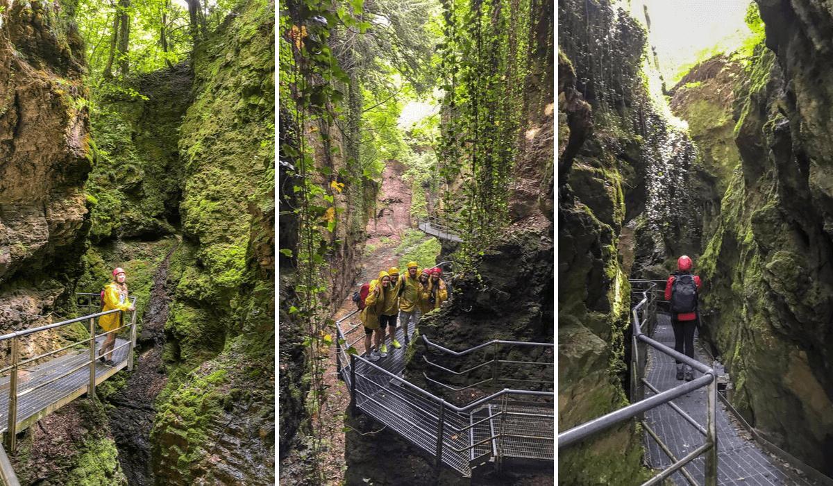 Visit Trentino Italy - canyon