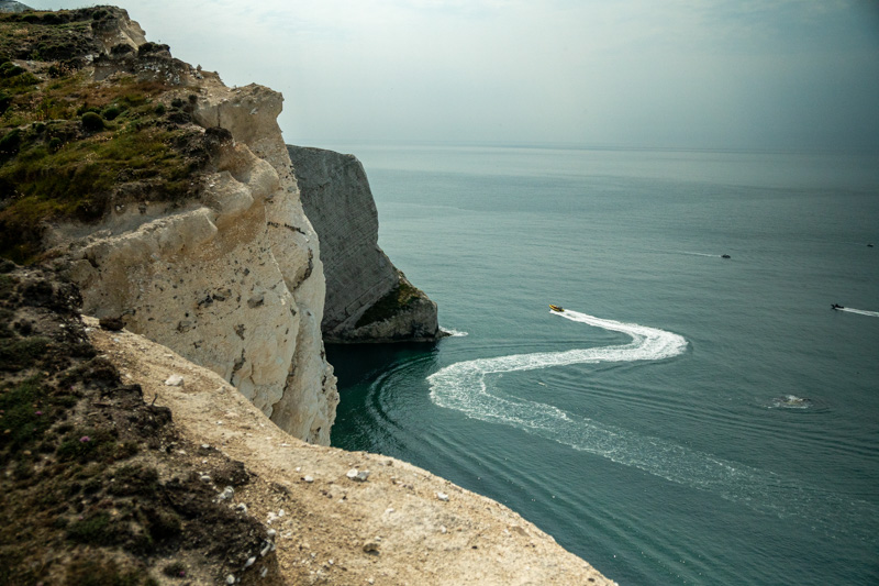Weekend trips in the UK from London, Isle of Wight coastline