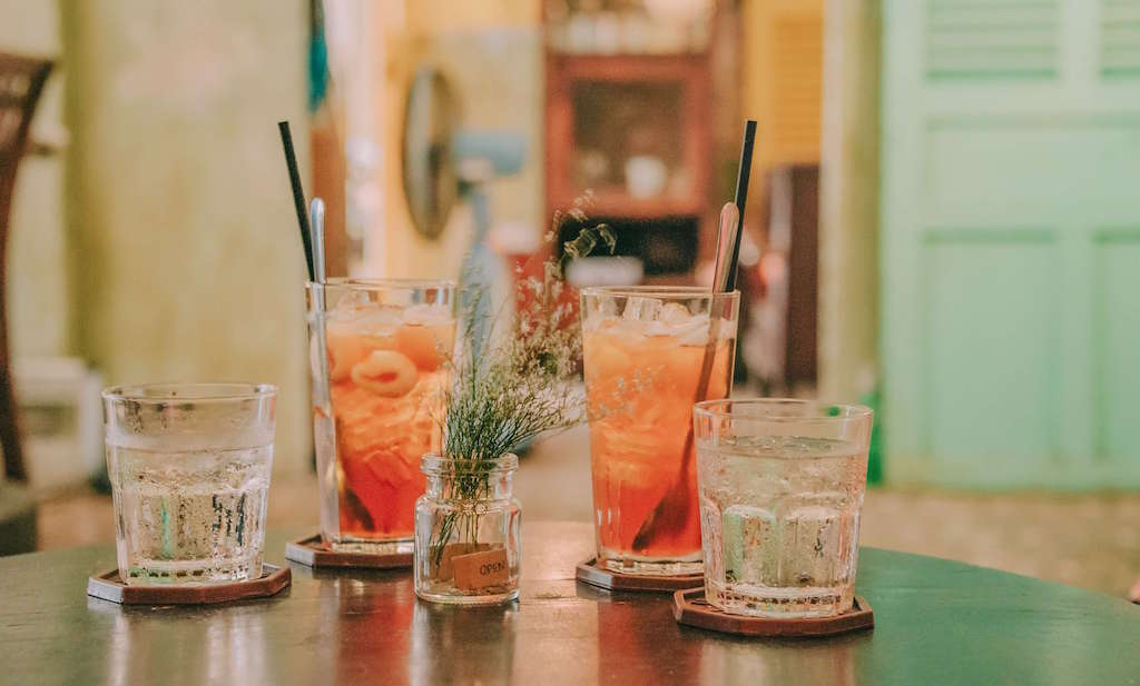 Cocktail making at home date idea