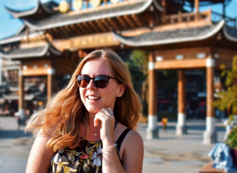 Girl in China