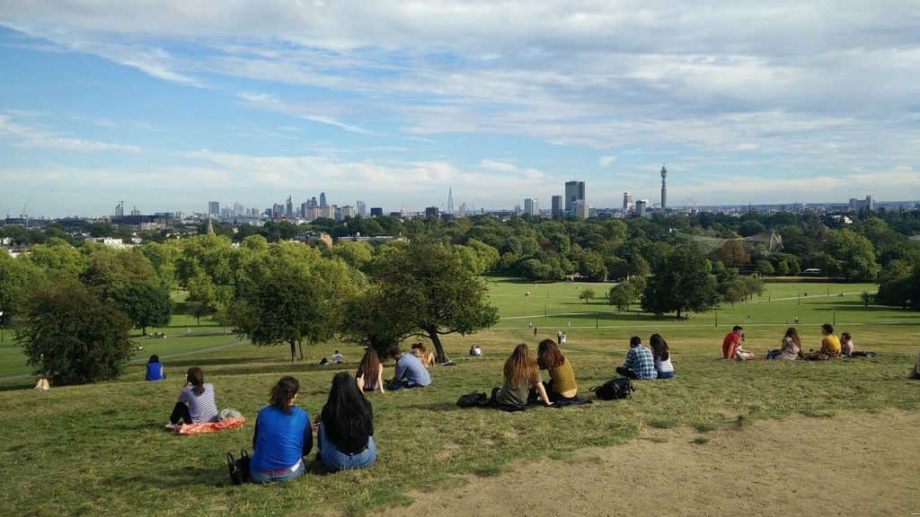 Primrose Hill London free viewpoint