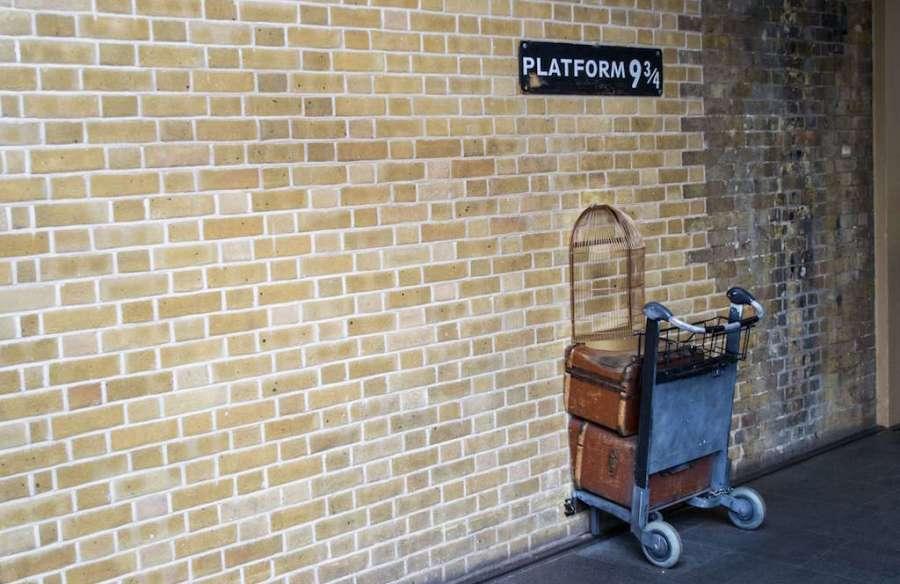 London Platform 9 3:4