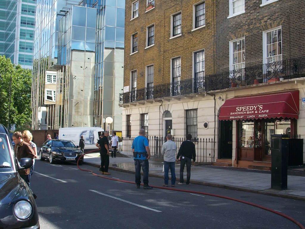 Speedys Cafe Sherlock London