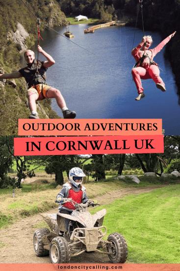 Outdoor adventure activities in Cornwall UK