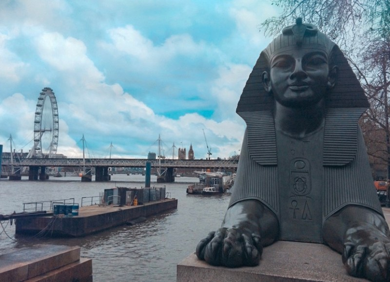 Cleopatras Needle London