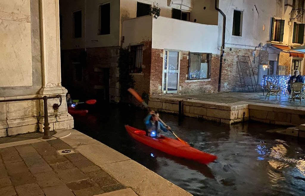 Kayaking in Venice, unusual things to do in Venice Italy