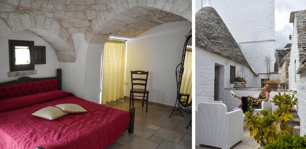 Alberobello trulli hotel