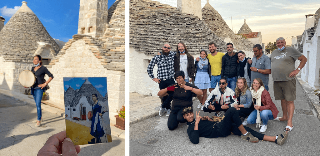 Meeting new peoplem, one of the best things to do in Alberobello