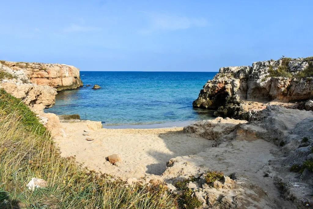 Cala Verde Monopoli beach