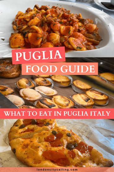 Puglia food guide pin