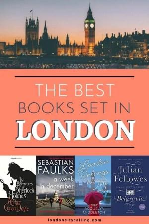 Books set in London pin