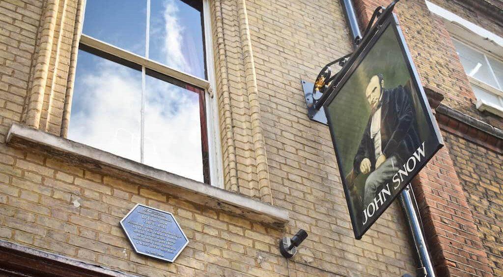 John Snow Pub in Soho London
