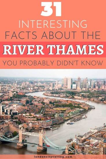 Facts about the River Thames pin