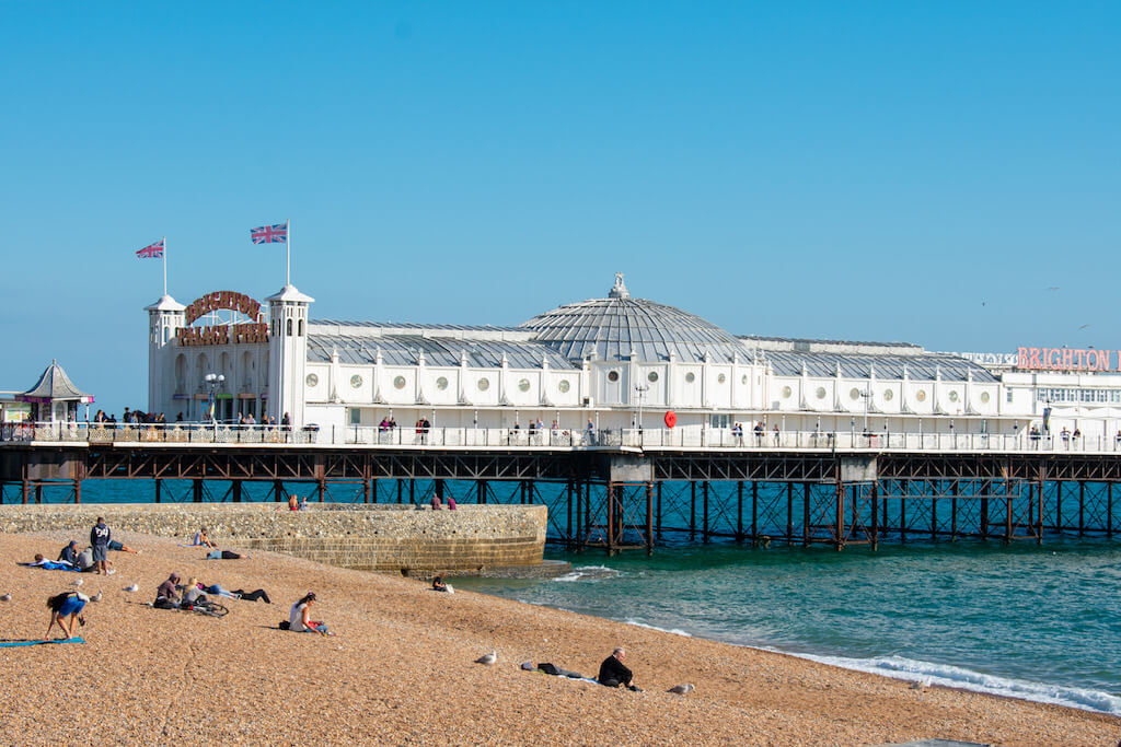 Brighton Pier, Brighton city UK