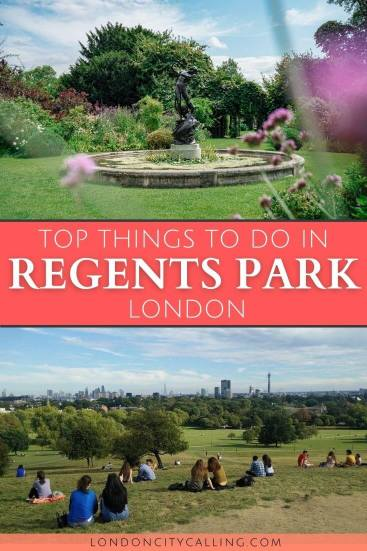 Things to do in Regents Park London