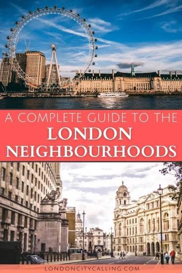 Area guide to the London neighbourhoods