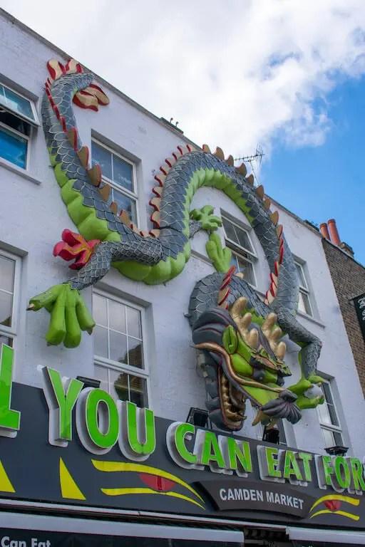 Camden High Street shop