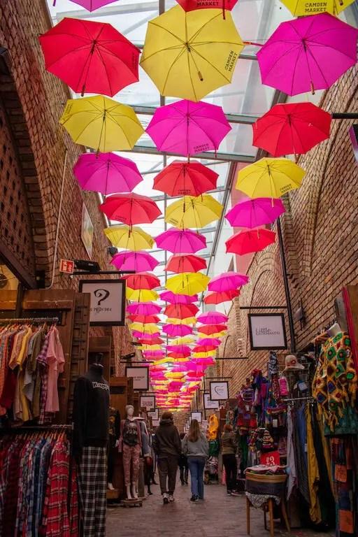 Camden Market Umbrellas