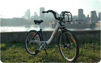 bixi the bike used in Montreal