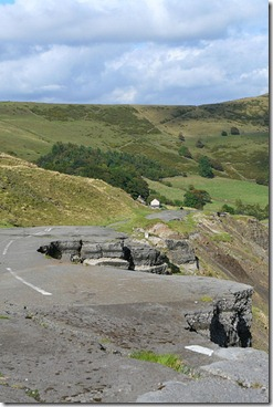 Mam Tor ruined road