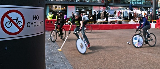 Bike Polo in London