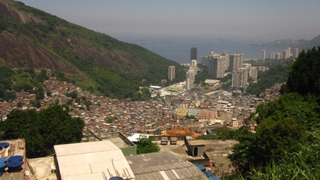 View of the Favela