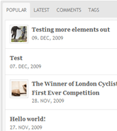new-london-cyclist-theme