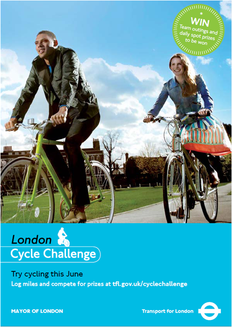 London Cycle Challenge poster