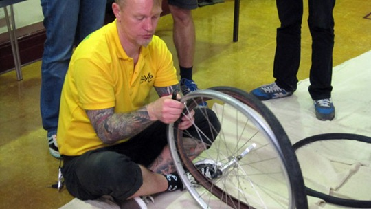 Westminster Maintenance course puncture repair