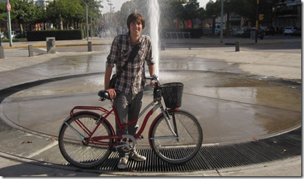 Cycling in Buenos Aires