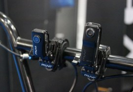 Muvi Camera at the Cycle Show