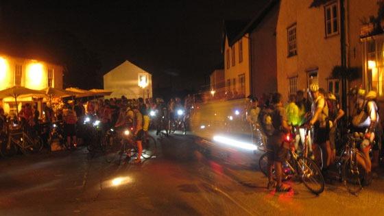 Dunwich Dynamo arrives in Moreton
