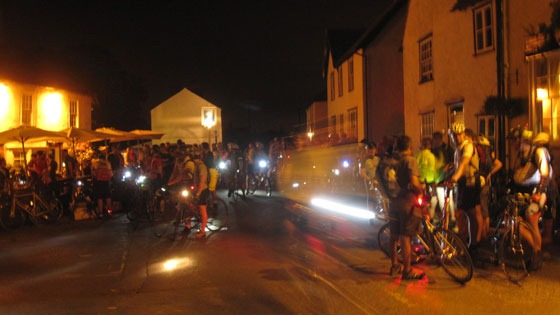 Dunwich Dynamo arrives in Moreton
