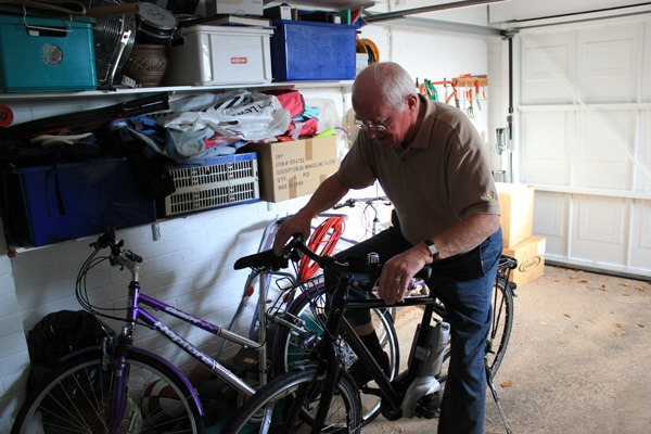 My grandad on the ebike