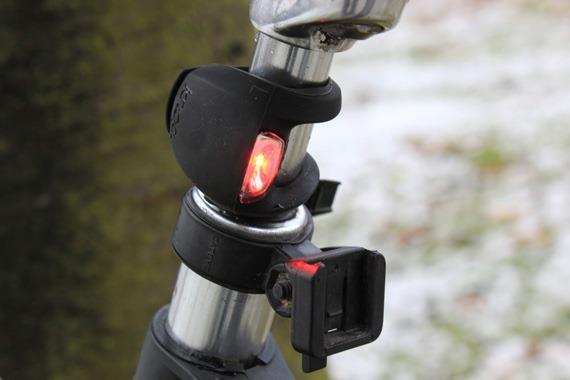 Knog Rear Light Bicycle Frog Strobe