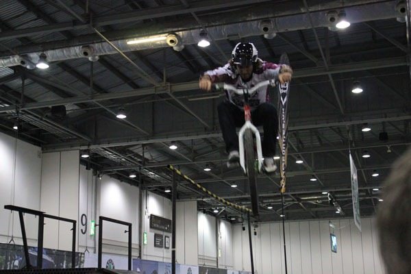 ldn bike show tricks