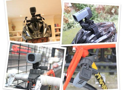 ATC Mini helmet camera mounting options