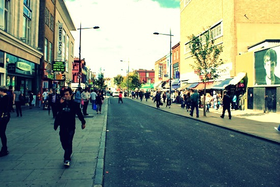 The Camden High Street