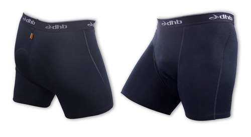 DHB Pro padded undershorts product shot against white background