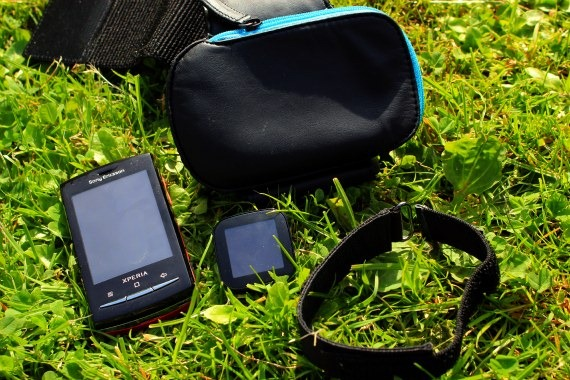 Sony Ericsson Fitness pack contents