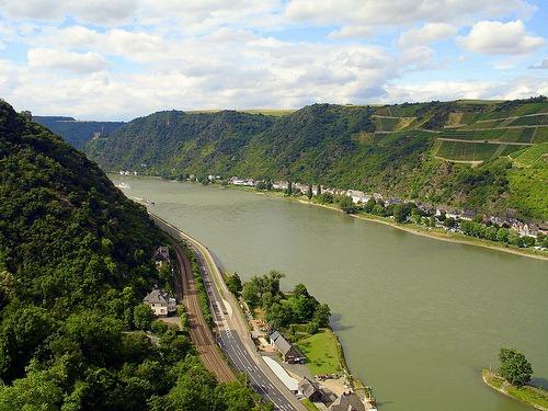 Rhine route