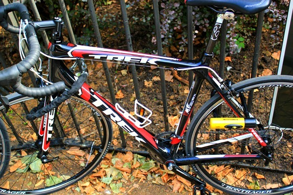 Trek Madone 3.1 locked up in London