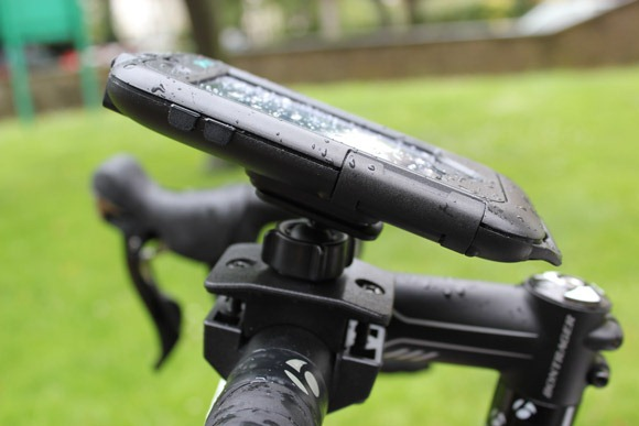 Mobile phone bike mount accessory
