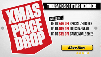 Evans Cycles Christmas discount