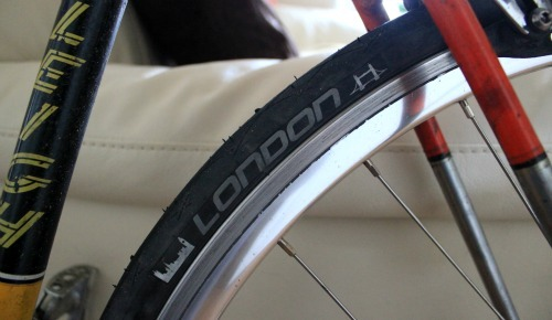 London edition tyre from Schwalbe
