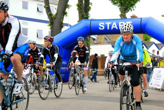 Starting line from a Sportive