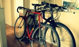 bikes in flat