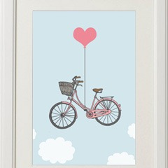 Framed-Love-and-Bicyles-Girly